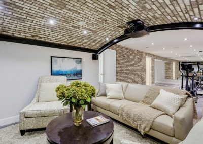 Remodeled Home Theater