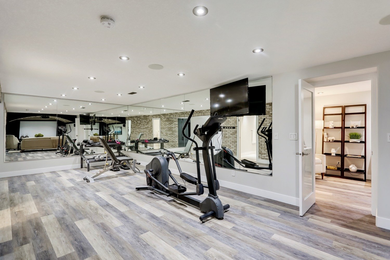 Gym Room Remodeled