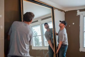 My Home handymen doing household installations
