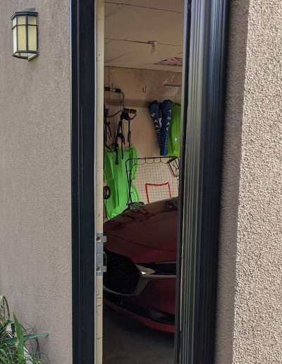 My Home Handyman Repairs: Door jamb fixed, outside view