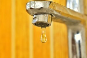 Leaky faucet, home repairs