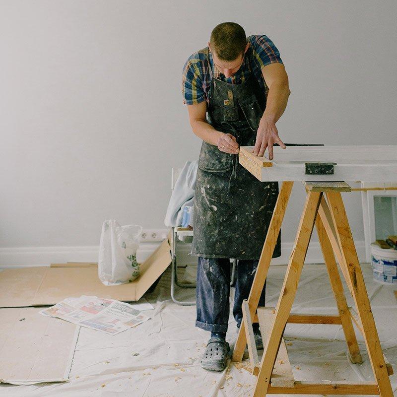 My Home Handyman's Carpenter Is Working