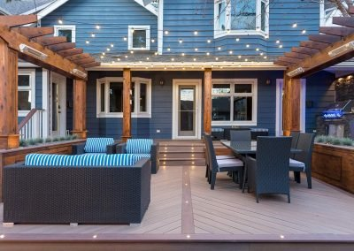 My Home Handyman deck with pergola